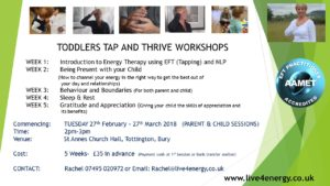 TODDLER TAP AND THRIVE WORKSHOPS