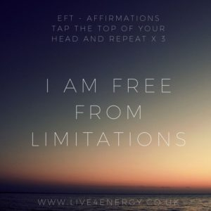 FREE FROM LIMITATIONS